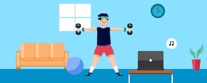 Guide To Home Workouts: How To Set Up & Get Going In 2021